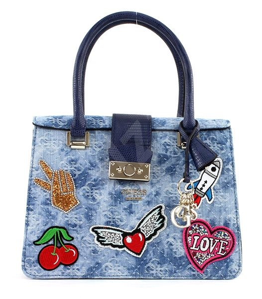 45bd7d9e08 GUESS DG669605 Blue denim - Women s Handbag