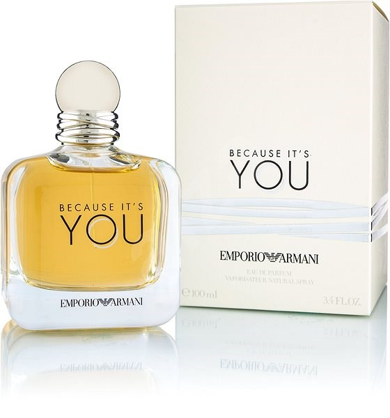 Edp 100ml Emporio It's Because Giorgio You Armani mnO0PvN8yw
