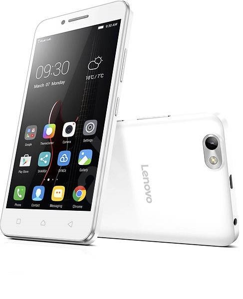 Lenovo Vibe C White - Mobile Phone