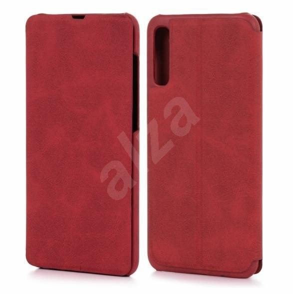 Lenuo LeDe for Samsung Galaxy A70, red - Mobile Phone Case