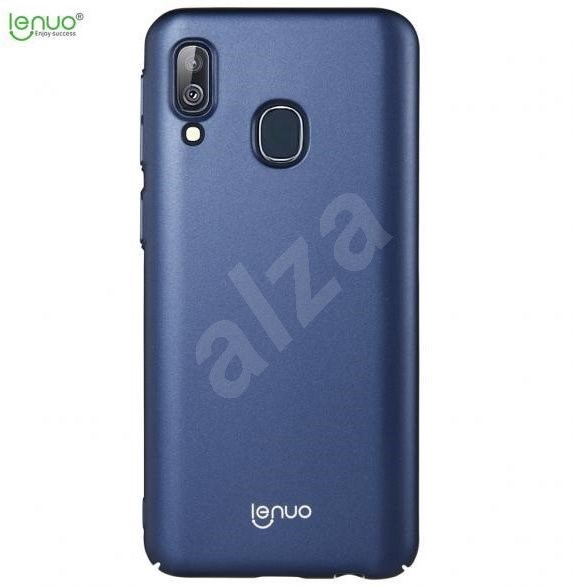 Lenuo Leshield for Samsung Galaxy A40, Blue - Mobile Case