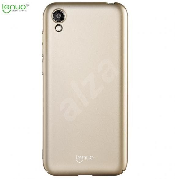 Lenuo Leshield for Honor 8S, gold - Mobile Case