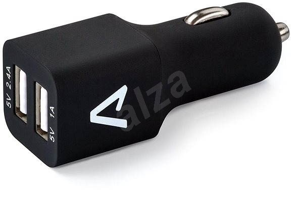 LAMAX USB Car Charger 3.4A Black-White - Car Charger