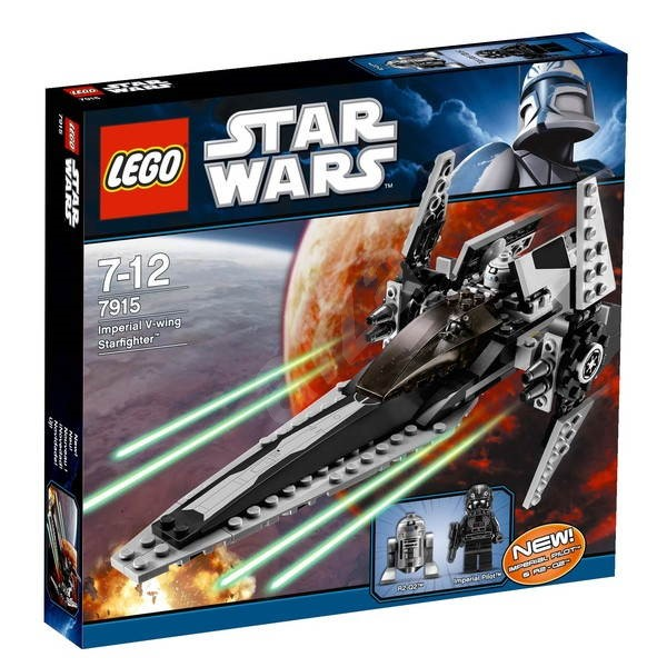 LEGO Star Wars 7915 Imperial V-wing Starfighter - Building Kit