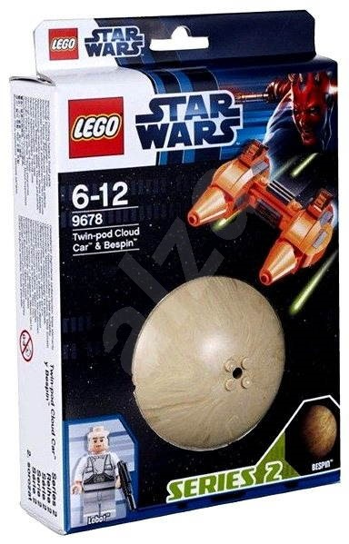 LEGO Star Wars 9678 Twin-Pod Hovercraft and Bespin Cloud  - Building Kit