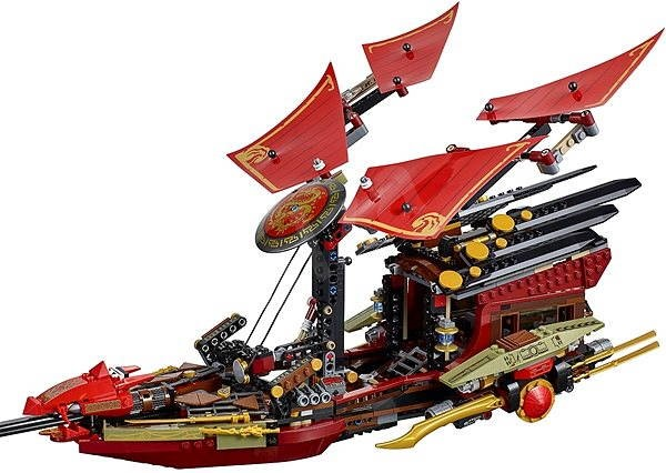 LEGO Ninjago last 70738 Final Flight of Destiny's Bounty - Building Kit