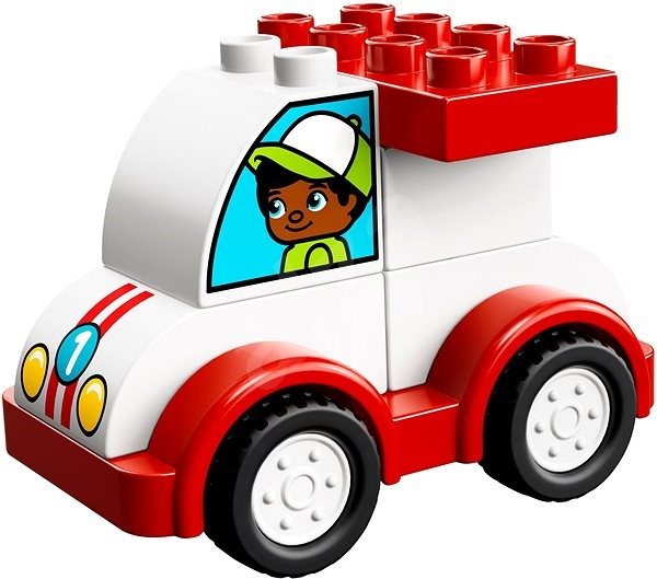 Lego Duplo 10860 My First Race Car Building Kit Alzacouk