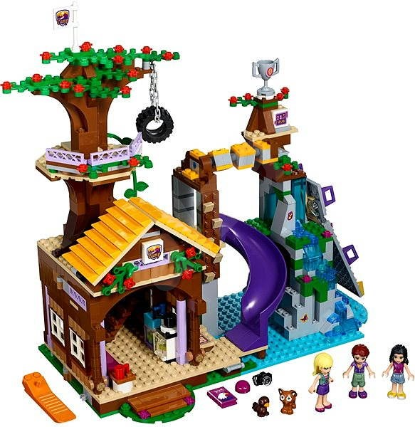 Lego Friends 41122 Adventure Camp Tree House Building Kit Alza