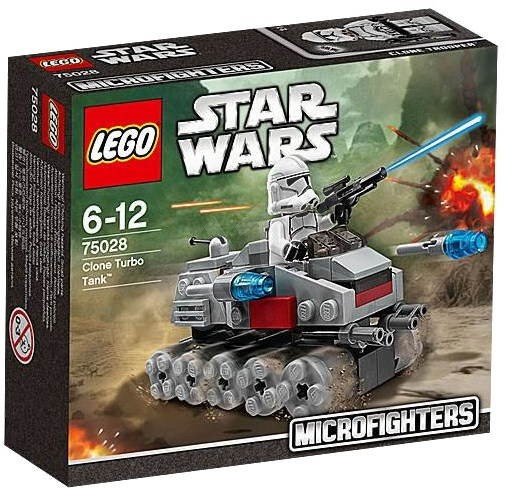 LEGO Star Wars Turbo Tank 75028 clones  - Building Kit