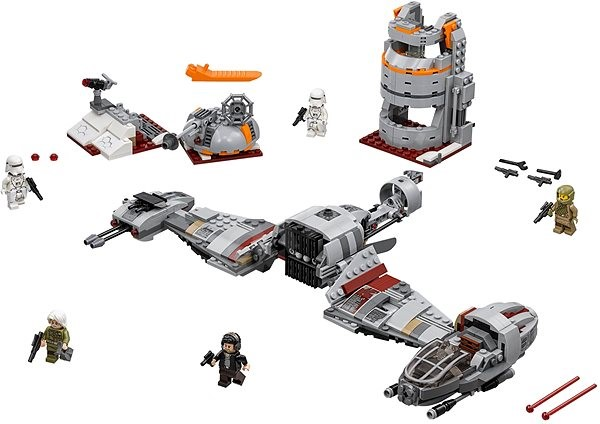 LEGO Star Wars Defense of Crait 75202 - Building Kit | Alza
