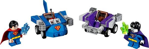 LEGO Super Heroes 76068 Mighty Micros: Superman vs. Bizarro - Building Kit