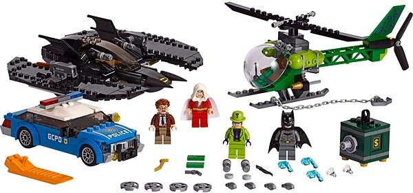 LEGO Super Heroes 76120 Batwing and The Riddler Heist - LEGO Building Kit