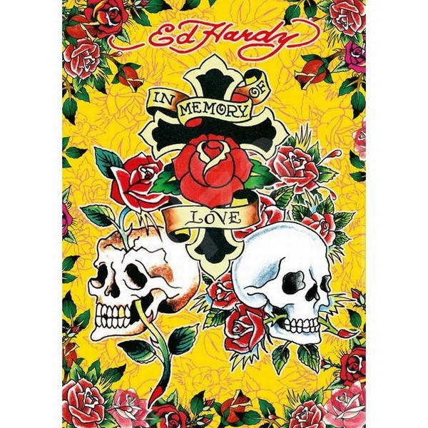 Puzzle Ed Hardy: Ed Hardy: In Memory of Love - Puzzle