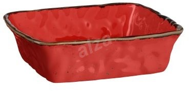 Mäser BEL TEMPO Square Baking Dish 23.5 x 23.5 x 6.5cm, red - Baking dish