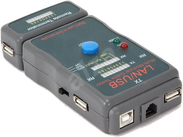 Gembird NCT-2 Ethernet Cable Tester for UTP, STP, USB - Tester