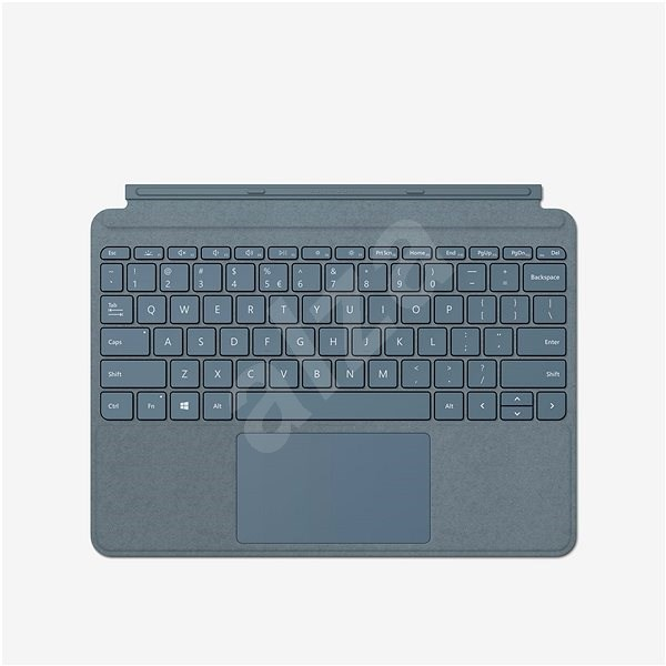 Microsoft Surface Go Type Cover, Ice Blue, ENG - Keyboard