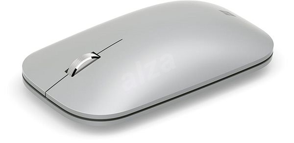 Microsoft Surface Mobile Mouse Bluetooth, Platinum - Mouse