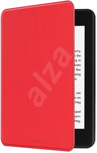 B-SAFE Lock 1267, for Amazon Kindle Paperwhite 4 (2018), red