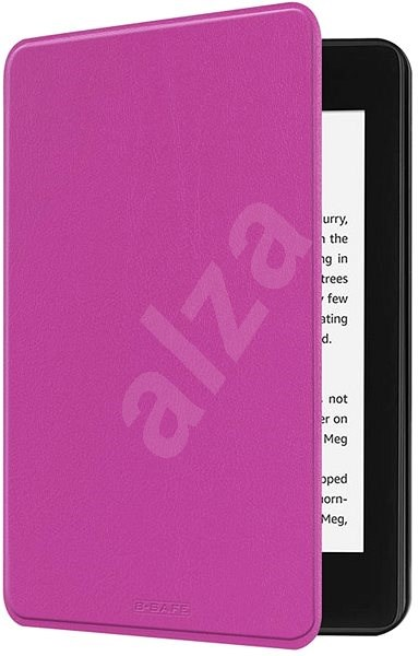B-SAFE Lock 1268, for Amazon Kindle Paperwhite 4 (2018), purple - E-book Reader Case