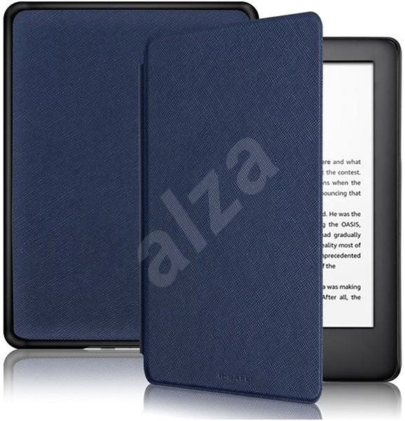 B-SAFE Lock 1285 for Amazon Kindle 2019, dark blue - E-book Reader Case