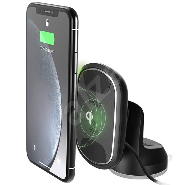 iOttie iTap Wireless 2 Fast Charging Magnetic Dashboard Mount - Car Holder
