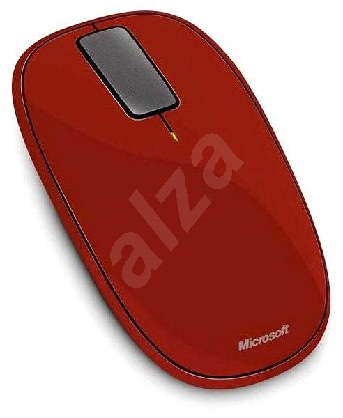 Microsoft Explorer Touch Mouse Rust Red - Mouse