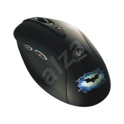 Logitech MX518 Gaming-Grade Optical Mouse Limited Edition Dark Knight - Mouse