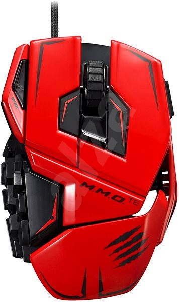 Mad Catz TE MMO red  - Gaming mouse