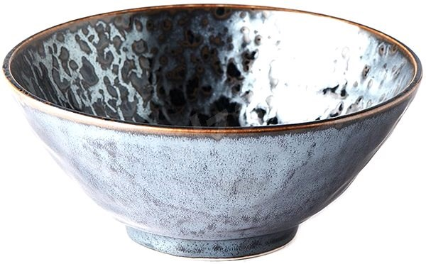 Made In Japan Udon Bowl, Black Pearl 20cm 900ml - Bowl