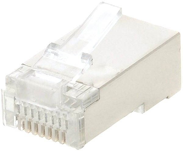 Datacom, RJ45, CAT5E, STP, 8p8c, Shielded, Solid, for Cords - Connector
