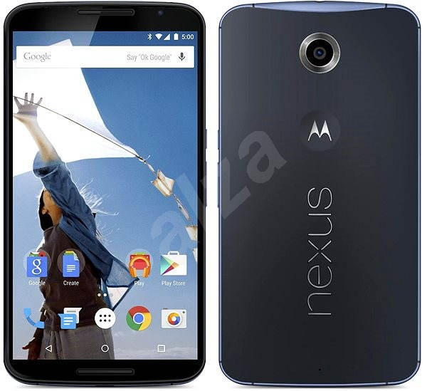 Motorola Nexus 6 Midnight Blue - Mobile Phone