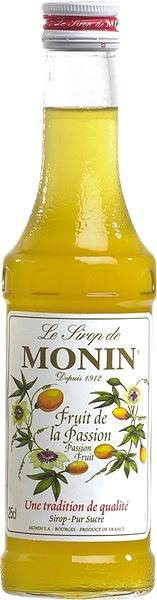 Monin Maracuja (Passion fruit) 0.25l - Syrup