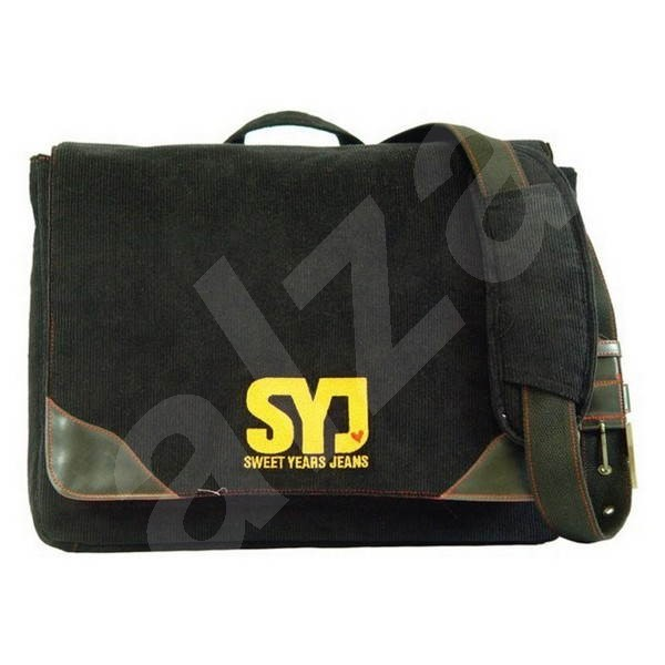 SWEET YEARS Paninaro Black - Laptop Bag