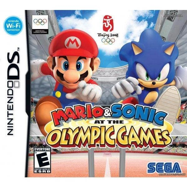 Nintendo DSi - Mario & Sonic at the Olympic Games - Console Game