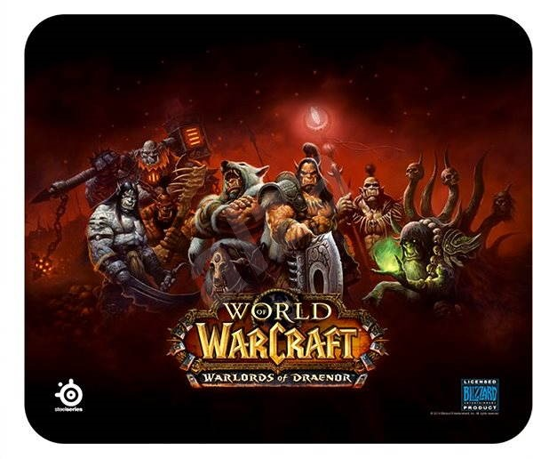 SteelSeries QcK Warlords of Draenor Edition (World of Warcraf) - Mouse Pad