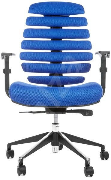 MERCURY STAR fishbones TW10 black / blue - Office Chair