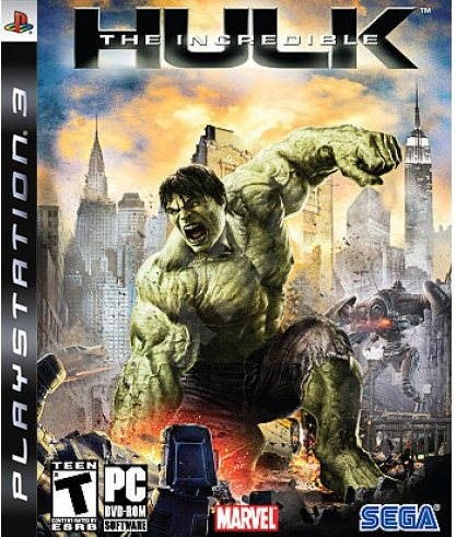 PS3 - The Incredible Hulk - Console Game