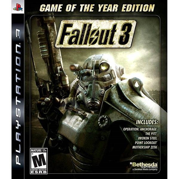 PS3 - Fallout 3 (Game Of The Year) - Console Game