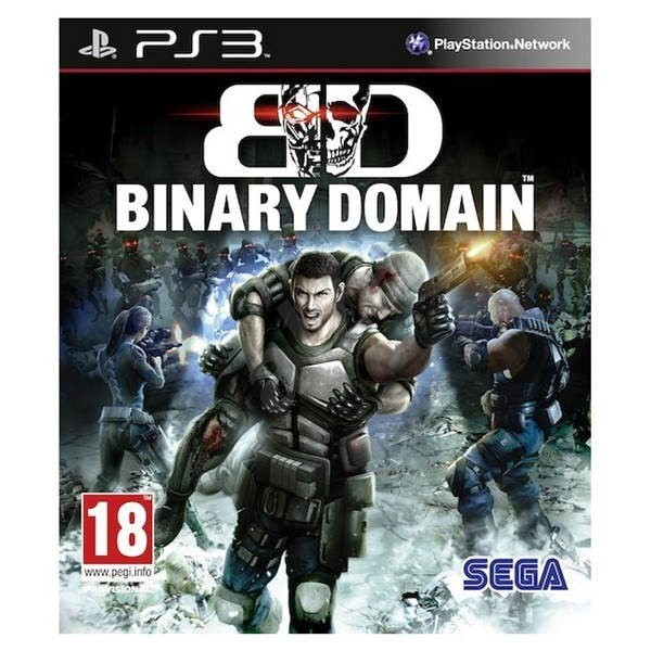 PS3 - Binary Domain - Console Game