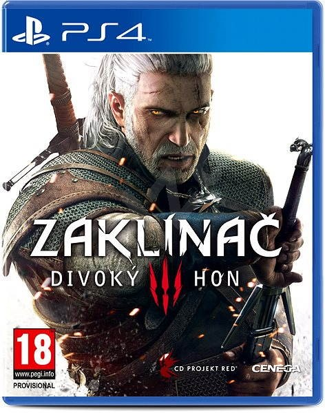 PS4 - Witcher 3: Wild Hunt CZ - Console Game
