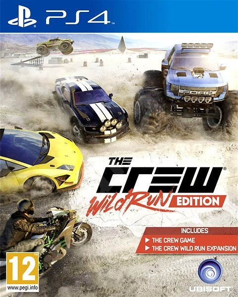 The Crew: Wild Run Edition - PS4 - Console Game