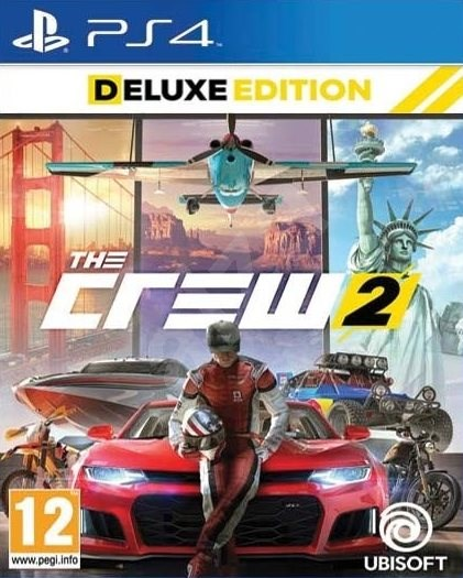 The Crew 2: Deluxe Edition - PS4 - Console Game | Alza co uk
