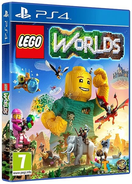 lego worlds - ps4 - console game | alza.co.uk