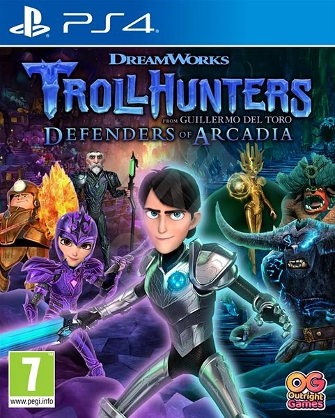 Trollhunters: Defenders of Arcadia - PS4 - Console Game