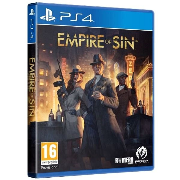 Empire of Sin Day One Edition - PS4 - Console Game