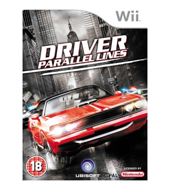 Nintendo Wii - Driver Parallel Line - Console Game