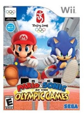 Nintendo Wii - Mario & Sonic: Olympic Games - Console Game