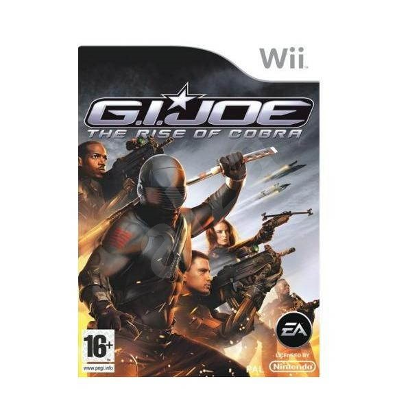 Game For Nintendo Wii - G.I. Joe: The Rise Of Cobra - Console Game