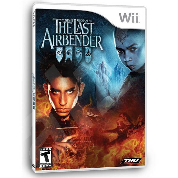 Nintendo Wii - The Last Airbender  - Console Game
