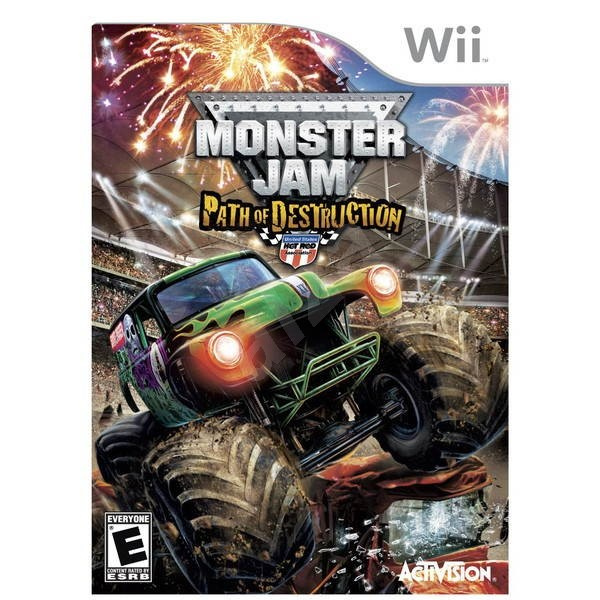 Nintendo Wii - Monster Jam: Path of Destruction - Console Game